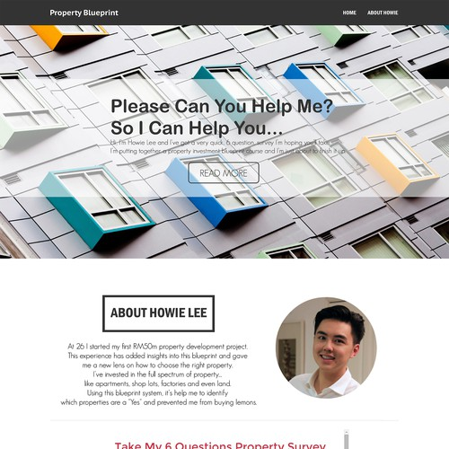 Create a property investment landing page landing page design contest runner up design by hendaru hery malvernweather Gallery
