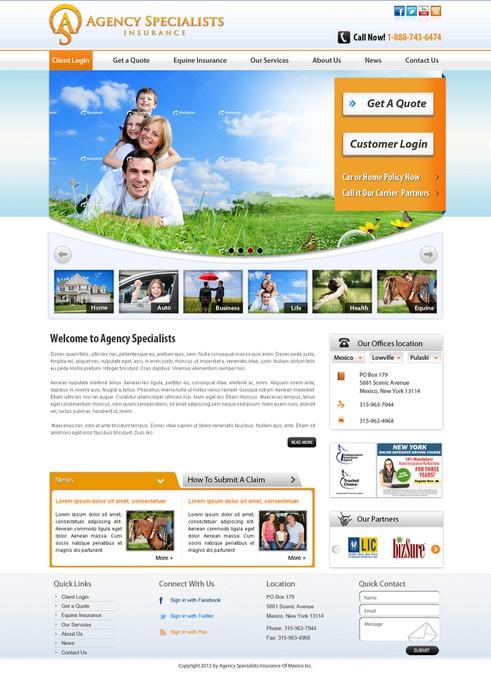 Winning design by WebXpert