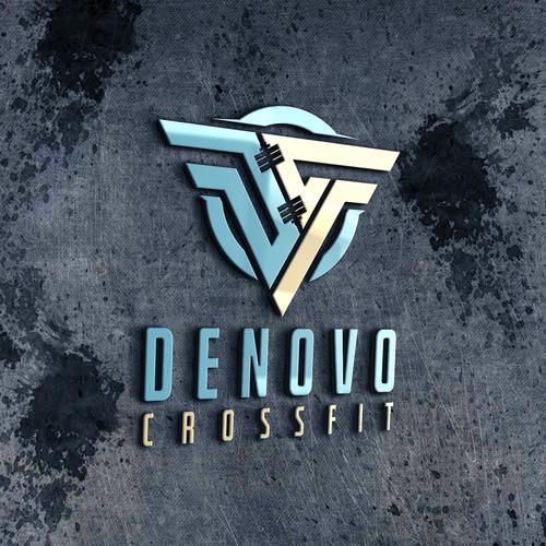 Diseño finalista de logo fitness*****
