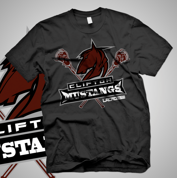 Create a t shirt design for youth lacrosse sports program for T shirt design programs for pc