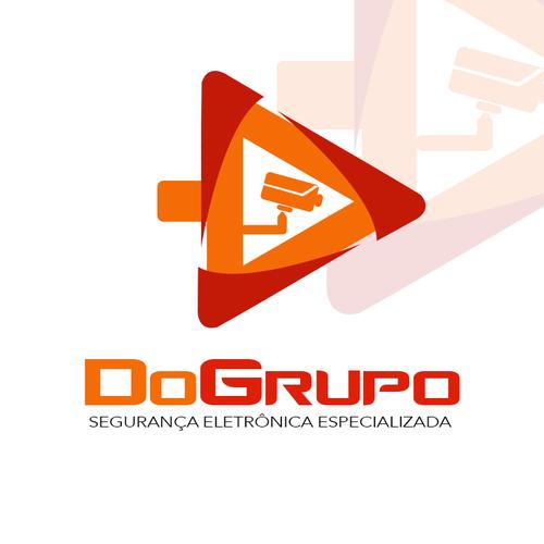 Crie um logo para uma empresa especializada em Segurança Eletrônica Design por Conrado Diório