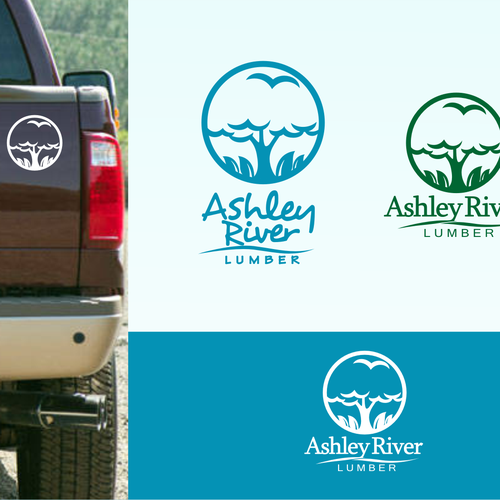 Ashley river lumber &or needs a new logo