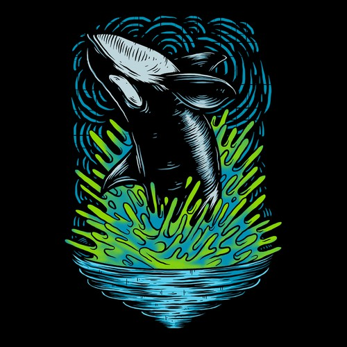 Orca - Also known as the Killer Whale Design by Hoomers