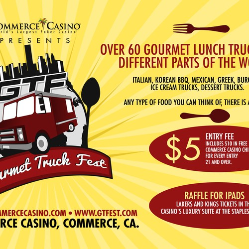 New Print Or Packaging Design Wanted For Gourmet Truck Fest