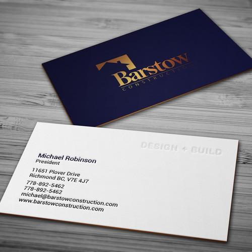 Custom bespoke home builder needs business cards business card runner up design by tcmenk reheart Images