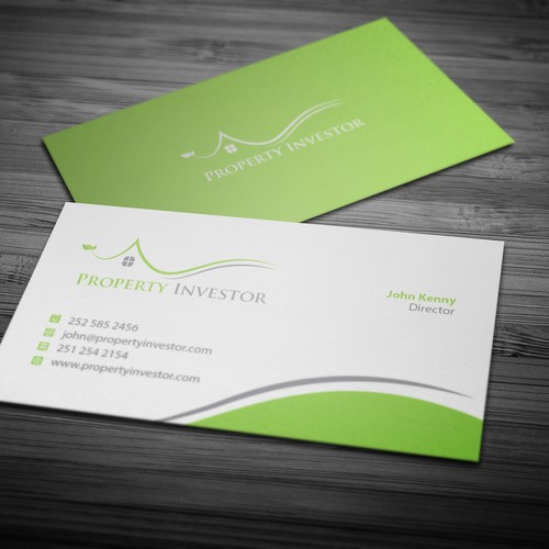 Business card design for property investor business card contest entries from this contest colourmoves