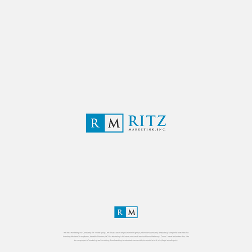 New Branding/Logo For Marketing/Consulting Company