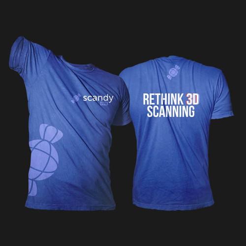 3d Scanning App Needs A Crave Worthy Shirt T Shirt Contest