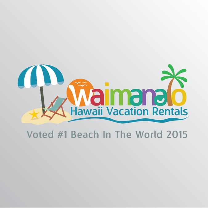 Rent Websites: Create A Tropical Logo For A Hawaii Vacation Rental