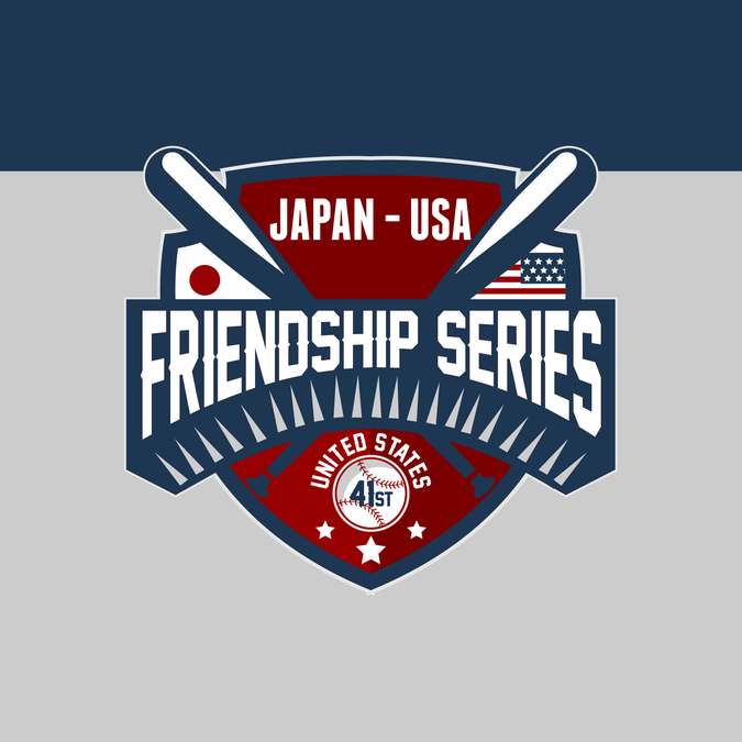 Logo For The 41st Friendship Series Sanctioned By Pony Baseball And