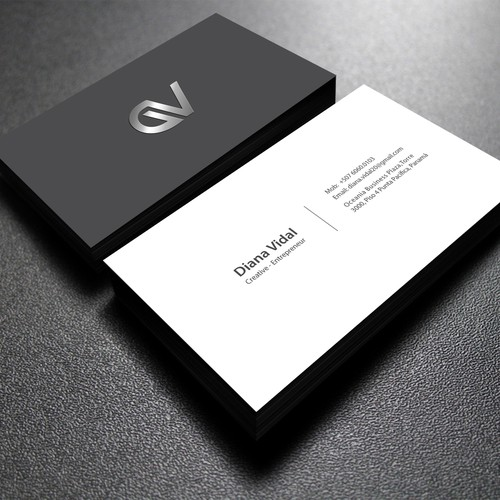 Creative business cards for young entrepreneur business card contest runner up design by hs designer colourmoves