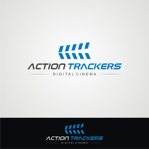 help action trackers with a new logo logo design contest