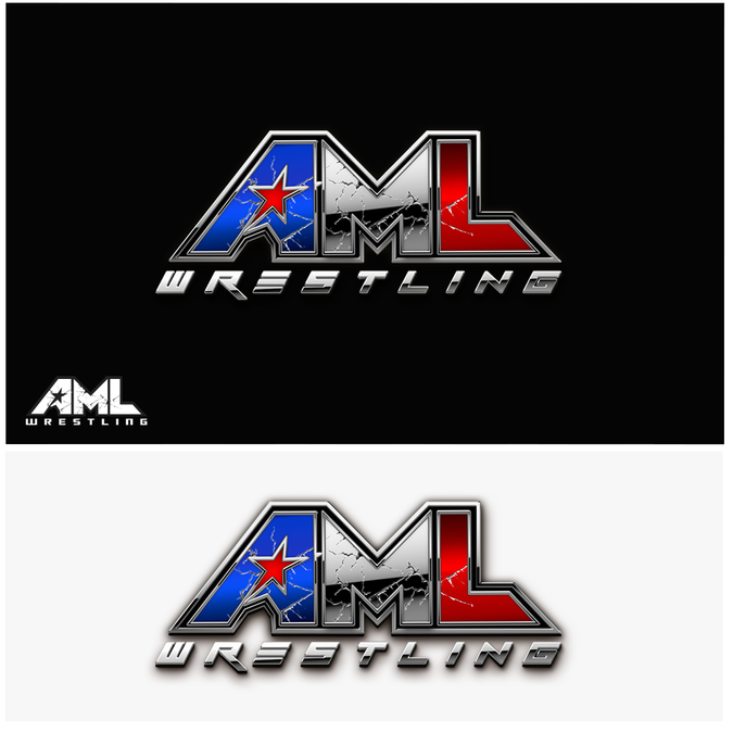 Create a logo for a new sports entertainment/wrestling company