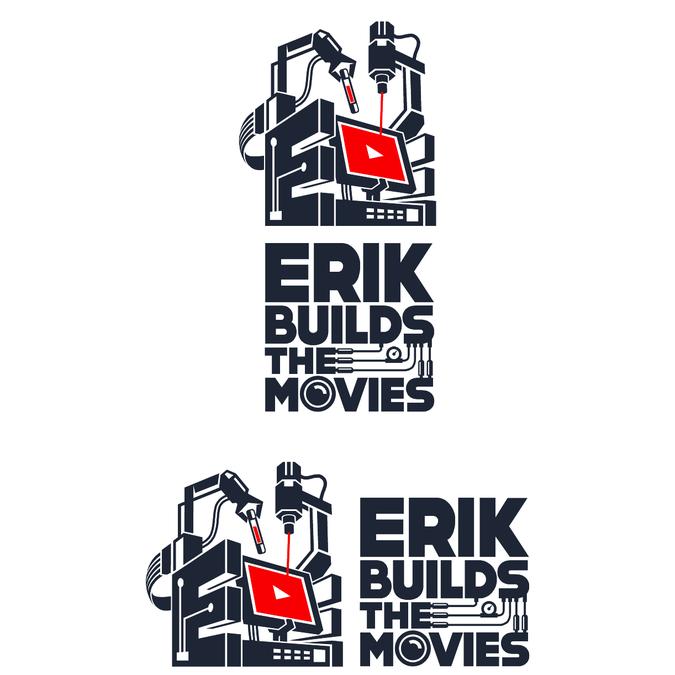 Badass Logo For The Ultimate Diy Youtube Movie Show Logo Design