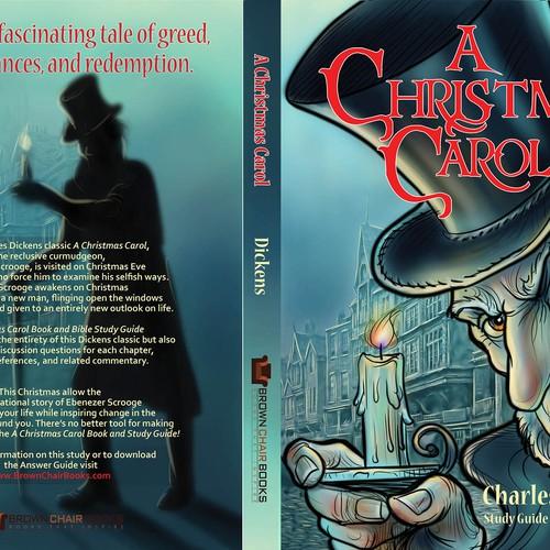 Design A Book Cover For A Christmas Carol With Ebenezer Scrooge Book Cover Contest 99designs