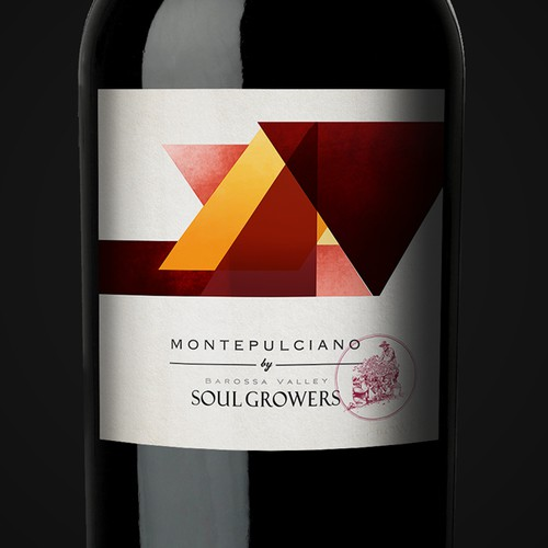 Fresh and Funky new label for Soul Growers Design by Aleksandr.B