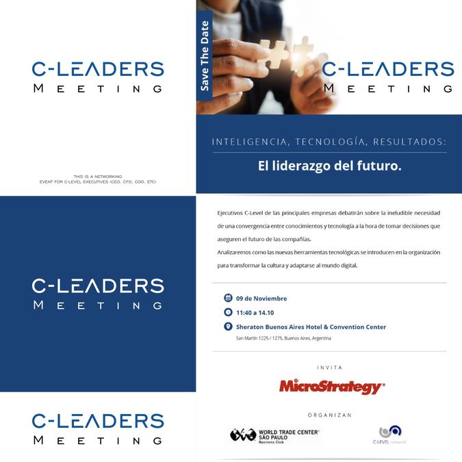 CEO Networking event   Logo design contest