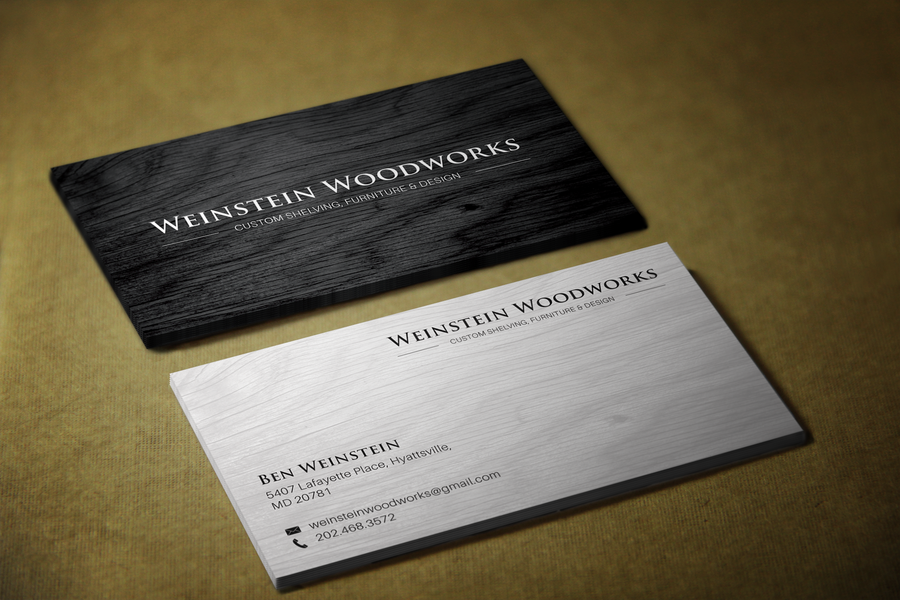 Create A Sleek Business Card Design For Furniture Making