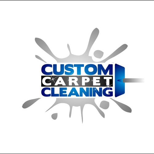 create the next logo for custom carpet cleaning logo design contest