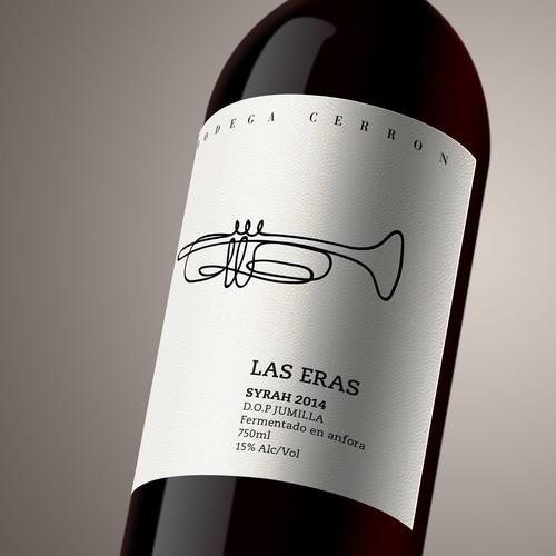 ORGANIC EXCLUSIVE WINE LABEL DESIGN - BODEGA CERRON Design by designLeB