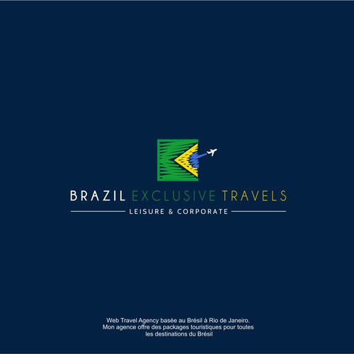 Need a logo for Brazil Exclusive Travels (luxury traveling agency