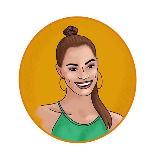 Runner-up design by Agustina Mendez