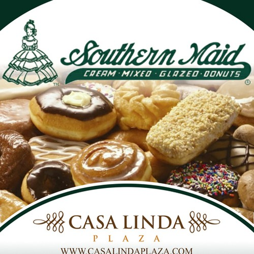Create an ad for Southern Maid Donuts Diseño de nika.shmeleva