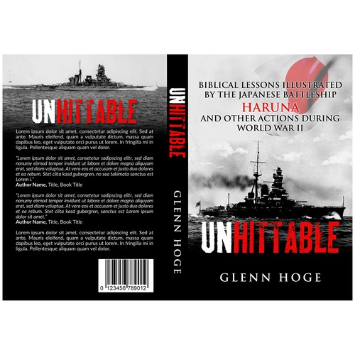Design a Historical Book Cover with a Battleship | Concours