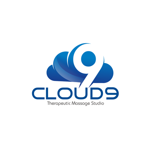 Cloud 9 therapeutic massage studio needs a new logo logo for Cloud 9 architecture