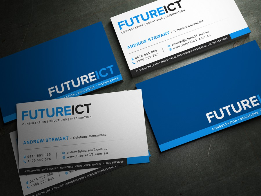 New business card wanted for Future ICT | Business card contest