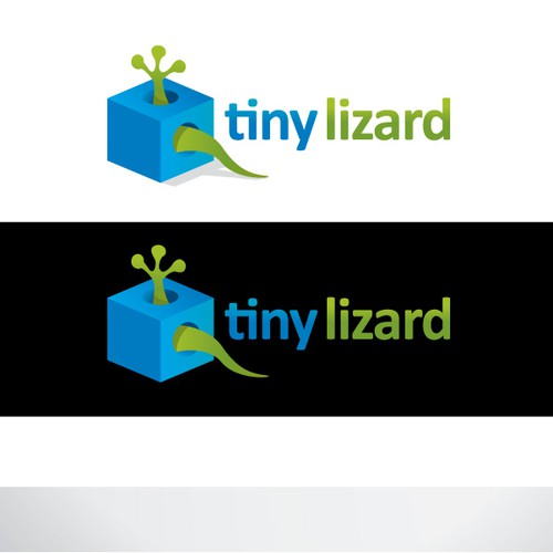 Tiny Lizard Logo Design by (((echoes)))