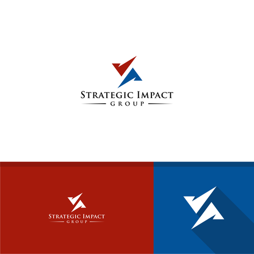 Impact design for strategic impact group logo design contest for Strategic design agency