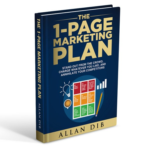 Business Book Cover Up ~ Create a captivating business book cover for quot the page