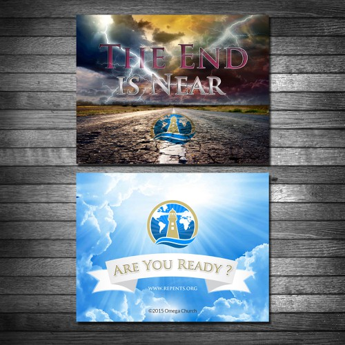 Design Postcard Promoting Church Website Design by Coloseum27