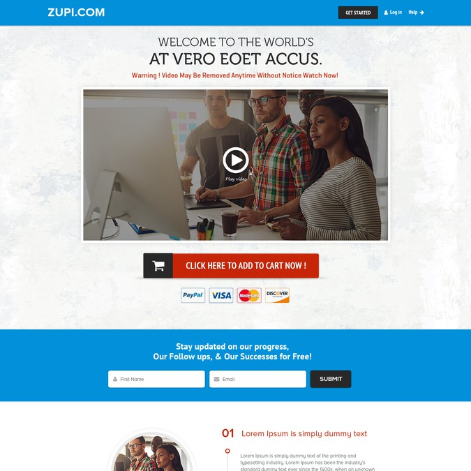 Winning design by Webwooter™