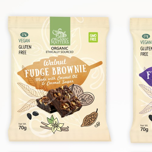 Nationwide food company needs a new package design Design by Urukova