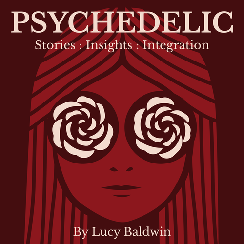Psychedelic Podcast Cover!! Look for something trippy that POPS. Design by bloc.