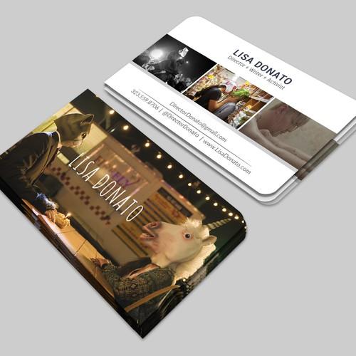 Filmmaker Business Cards Concurso