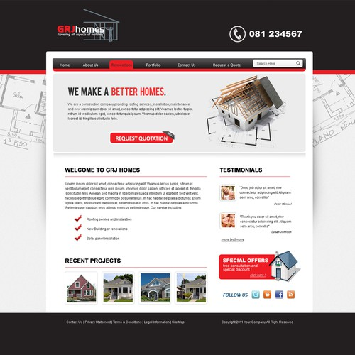 Runner-up design by NEX Solutions