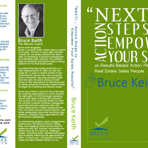 Real Estate Book Cover Design : Book cover design for bruce keith real estate coach