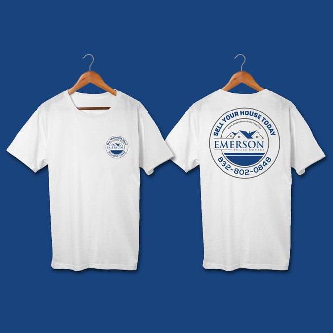 1e5cc8f8 Create a professional t-shirt design for Emerson House Buyers! | T ...