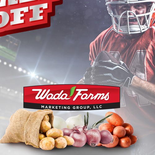 Design Promo Flyer that incorporates a football kickoff theme Diseño de cronodesigns