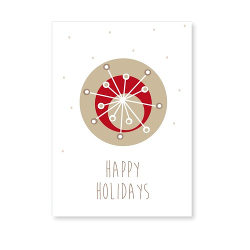 BE CREATIVE AND HELP 99designs WITH A GREETING CARD DESIGN!! Design von Naturalcom