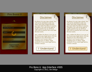 Mobile app design by Joekirei