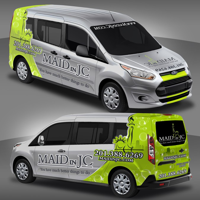 Winning design by StudioGrafico™Wraps