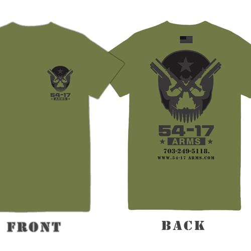 Create A Custom T Shirt For A Firearms Website T Shirt
