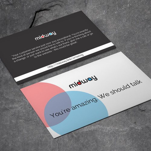 Design a recruiting card to attract retail employees business card runner up design by xclusive16 colourmoves
