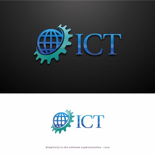 ict logo for 7b company logo design contest
