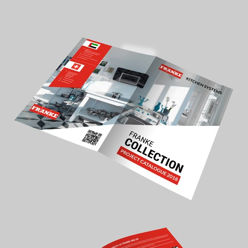 Make Us A Brochure For Our Home Appliances And Kitchen