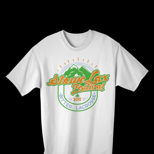 2015 stowe lax festival t shirt concurso camisa for T shirt design festival